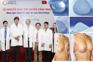 Lễ ký kết chuyển giao công nghệ nâng ngực với Bệnh viện Meridia Huron – Hoa Kỳ