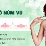 Phẫu thuật thu nhỏ núm vú – Núm vú thon gọn, hài hòa với bầu ngực